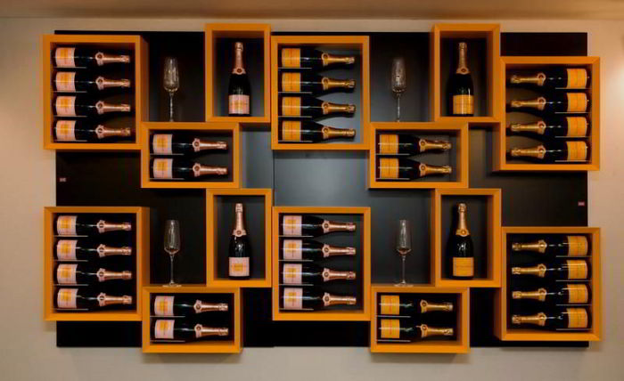 Encasing A Collection Of Wine Bottles In Glass Gives A Very Modern Look,  Enabling A Collection To Be Situated In A More Prominent Position In The  Home, ...