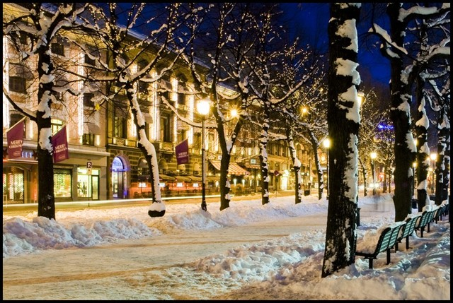 Oslo in the snow | The Sofa & Chair Company Blog
