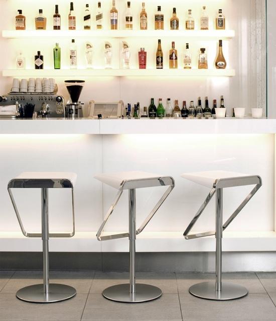 Wonderful Modern White Bar