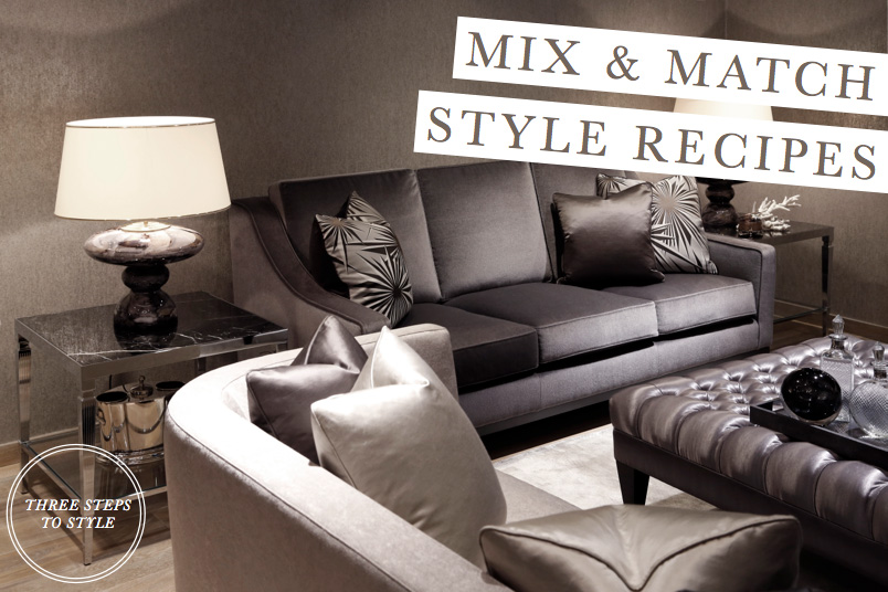 Mix Match Room Style Recipes The Sofa Chair Company